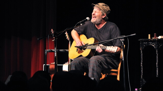 """I GOT THE $3-MILLION-PAYCHECK-PER-MOVIE BLUES."" Jeff Daniels rocked the Heyde Center on Nov. 12, a show packed with audience interaction that included bringing locals onstage to dance."