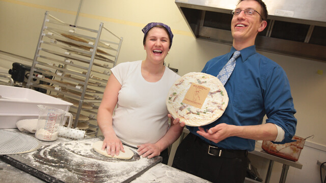 Launch Pizza - Ambition Donkey-sized Venture Fans Frozen Food