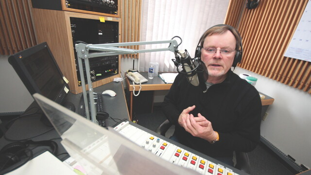 Wisconsin Public Radio's Al Ross uses the near-magic power of radio waves to inform and entertain the masses from WPR's Eau Claire studios.