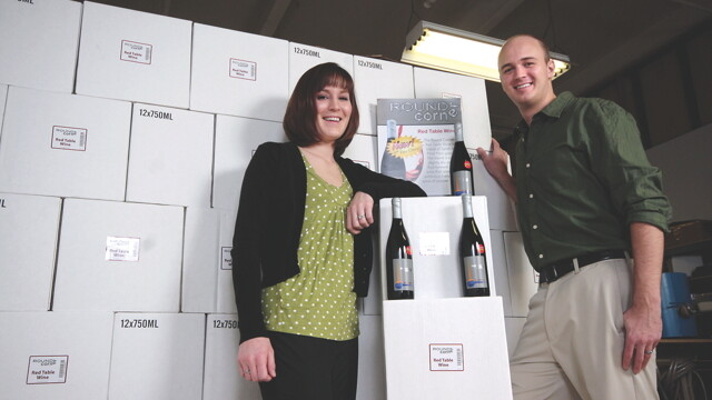 THINKING OF WINE, OUTSIDE OF THE BOX. Matthew and Kayla Rick turned their fuity hobby into Infinity Beverages, a winery operating out of Eau Claire's Banbury Place.