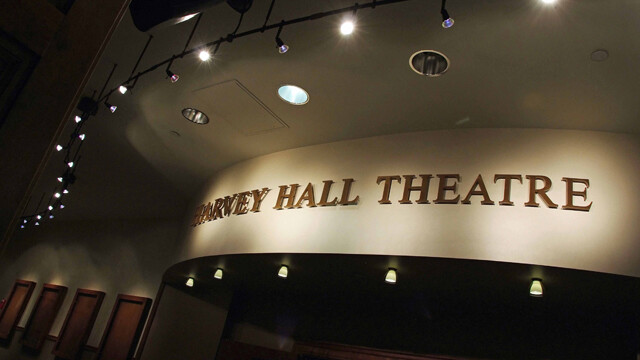 Harvey Hall's makeover now has a state-of-the-art sound and light system, a computerized fly system for set pieces, and a new green room