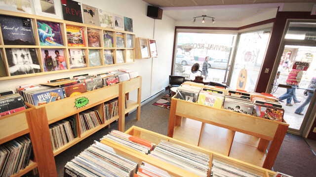 Revival Records, 418 South Barstow St., downtown Eau Claire