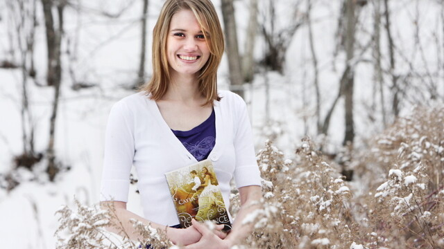IN A FIELD ALL HER OWN. Since publishing her first fantasy novel at age 14, Cayla Kluver (now 19) has been picked up by Harlequin Teen and published in 16 countries.