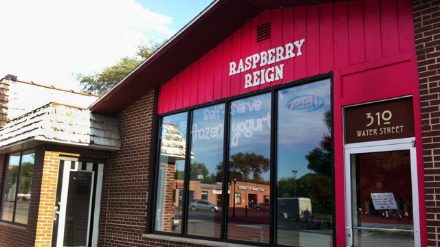Raspberry Reign is one of two new frozen yogurt shops in Eau Claire. Break out your spoons!