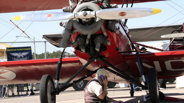 Coming in for a Landing - aviation show makes pit stop at