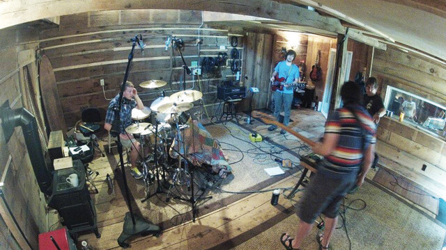 BAND CAM. Chippewa Valley band Whale House works in the studio. The band's first release was in 2010.