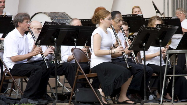 The Eau Claire Municipal Band was among the groups that recently received a Visit Eau Claire grant.