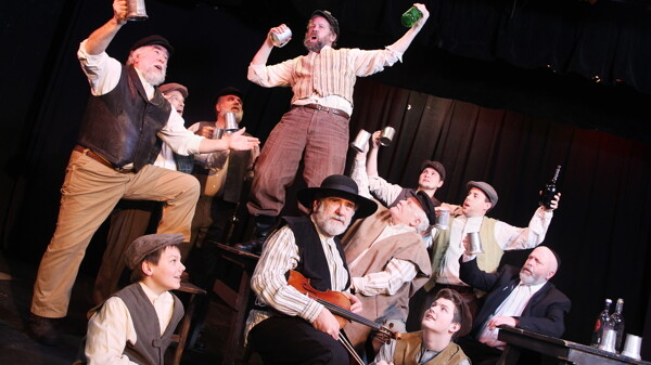 L'CHAIM! TO LIFE! The gang from Anatevka gets its drink on in the CVTG's production of Fiddler on the Roof.