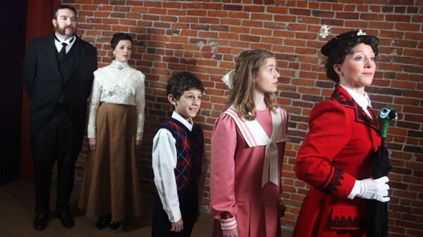 A SPOONFUL OF ACTING MAKES THE THEATER AWESOME. Check out the Eau Claire Children's Theater production of Mary Poppins running at the State Theatre March 5-8.