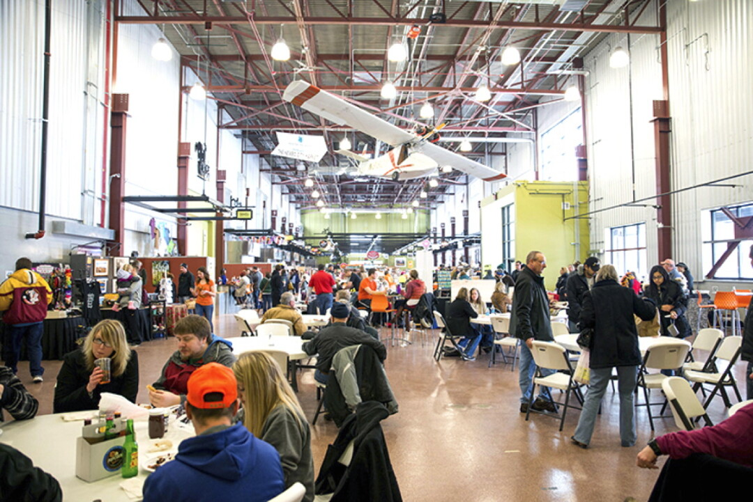Built on a formerly abandoned industrial site that had been ravaged by a flood, NewBo City Market (Cedar Rapids, Iowa) offers space for merchants, vendors, and events.