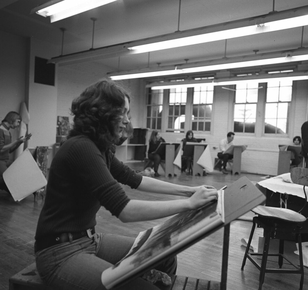 DRAWN TO ART. Stout's School of Art and Design is celebrating its 50th anniversary with a two-day event.
