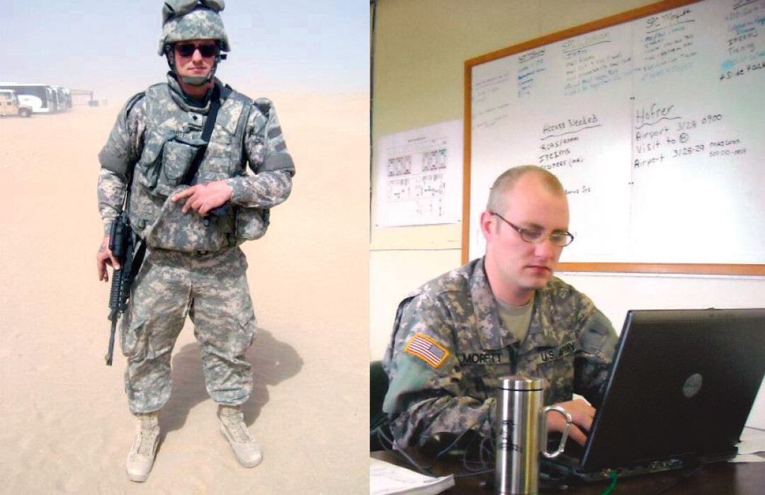 Scott Morfitt served in Iraq with the Minnesota Army National Guard's 34th Infantry Division.