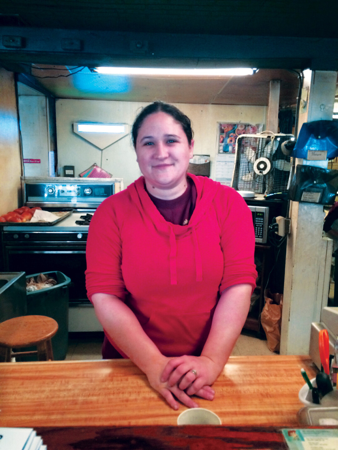 VIVA LA VIE BOHEME. Laura McNamara is the new manager of the Bohemian Ovens, an acclaimed bakery in Bloomer. A longtime employee, McNamara said she will do her best to maintain the traditional atmosphere.