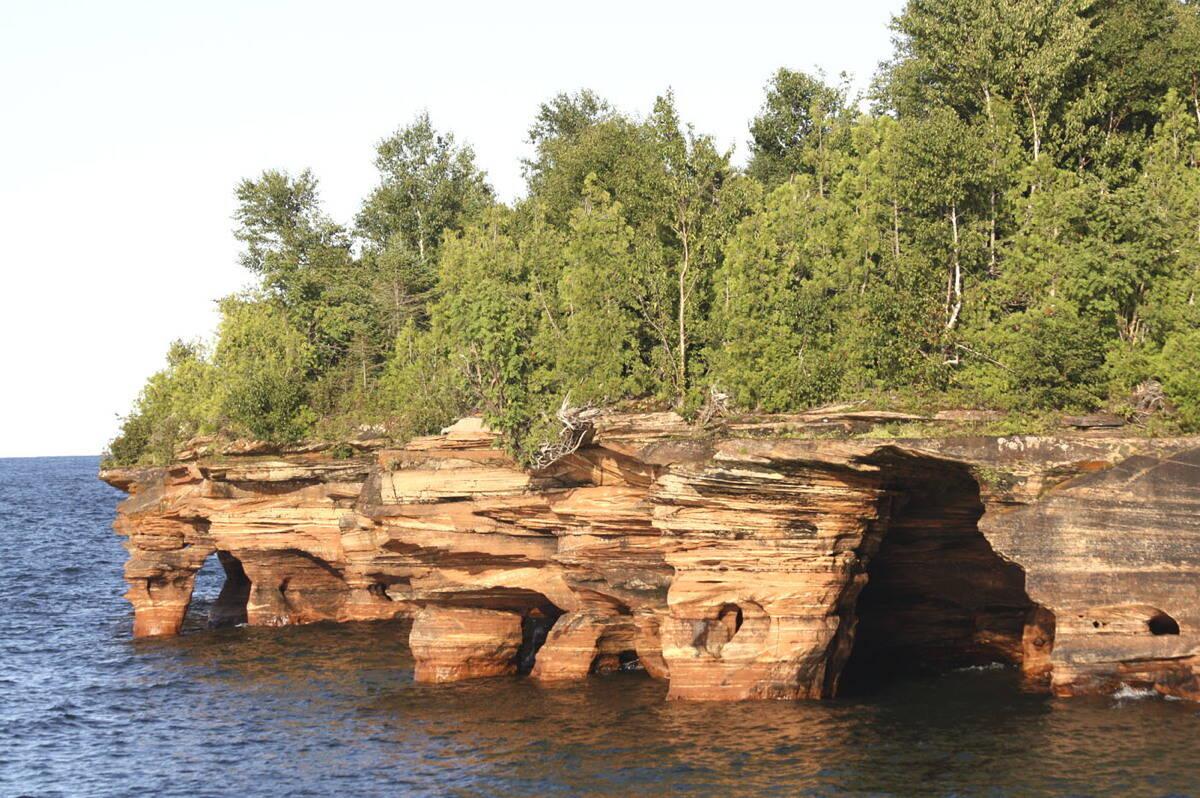 Lake Superior Island Camping