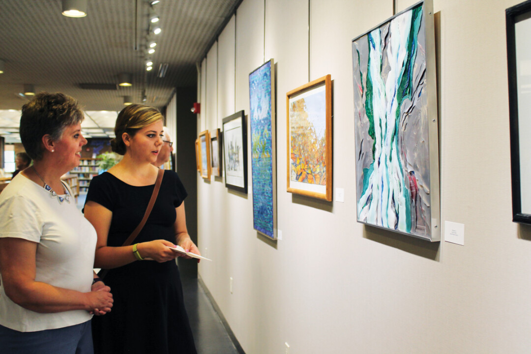 Always In Motion - group exhibit at library explores