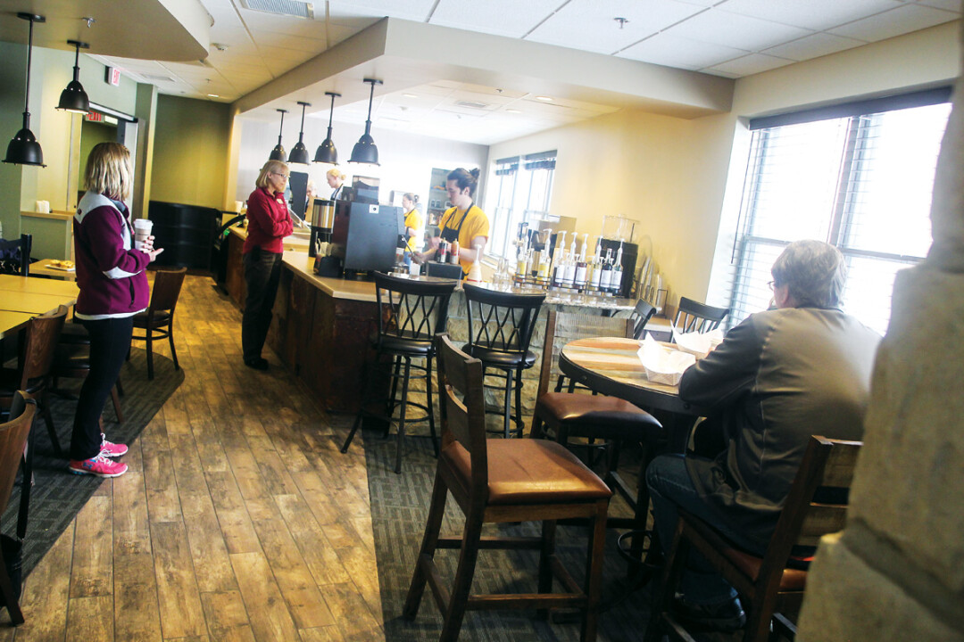 SAME SPACE, NEW NAME. High Bridge Coffee inside the Wissota Health and Regional Vent Center in Chippewa Falls is now a third location for The Goat Coffee House. The new owners will honor gift and punch cards until July 15.