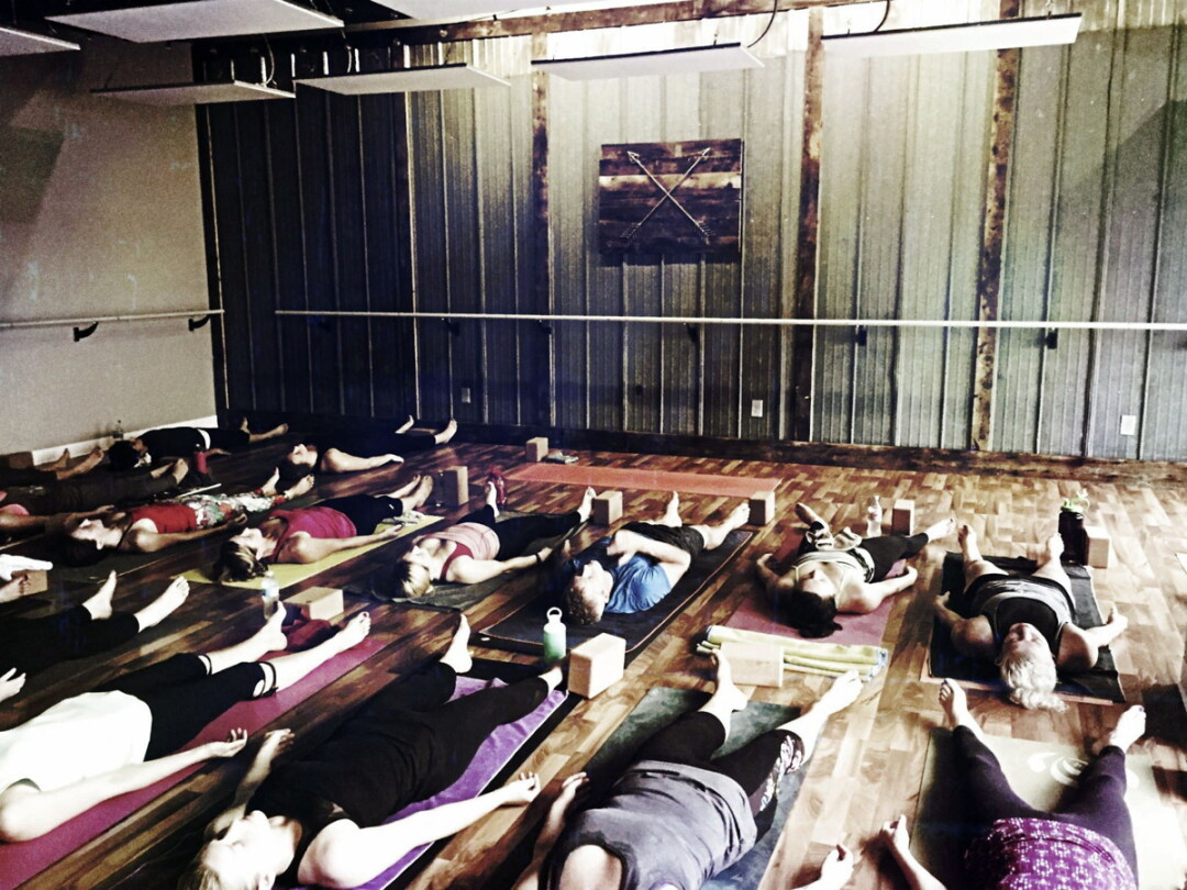 NAMASTAY FOCUSED ON EXPANSION. Yoga studio Latitude 44 (313 E. Madison St.) will take over a neighboring space that currently houses Fun Dye Factory,
