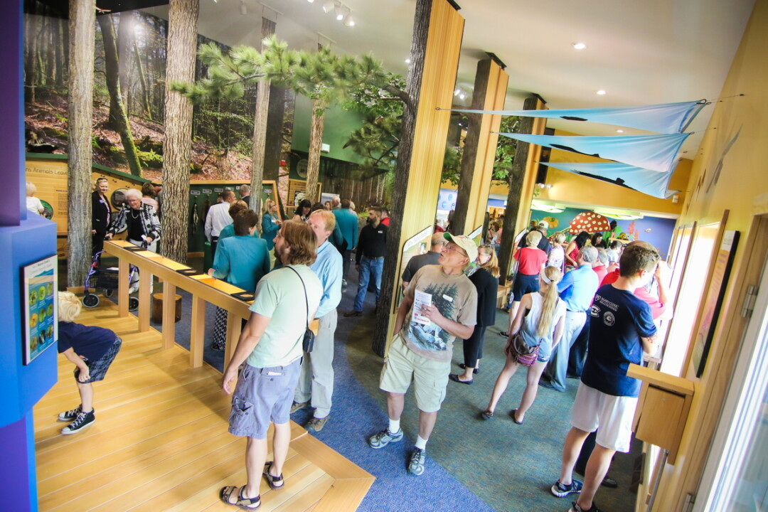 Beaver Creek Reserve near Fall Creek recently unveiled the remodeled Scheels Discovery Room, which educates visitors about Wisconsin flora and fauna.