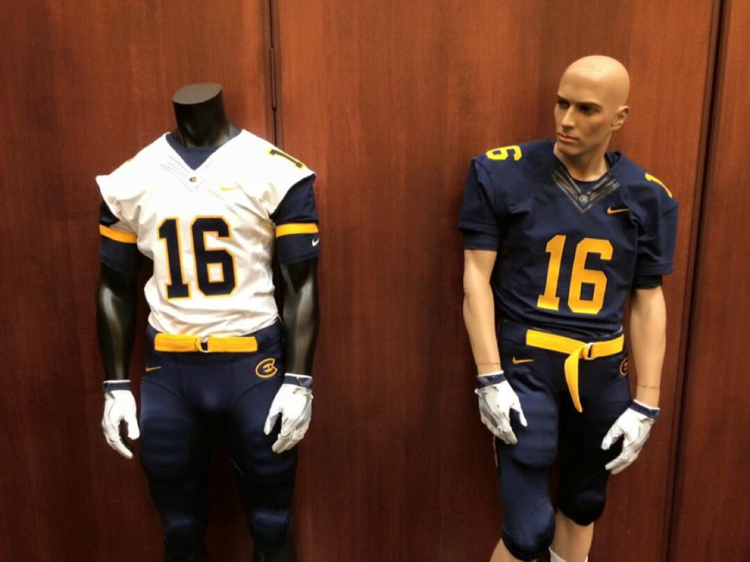 best sneakers bce39 fd1ed New-Look Blugolds - UWEC launches new era with redesigned...