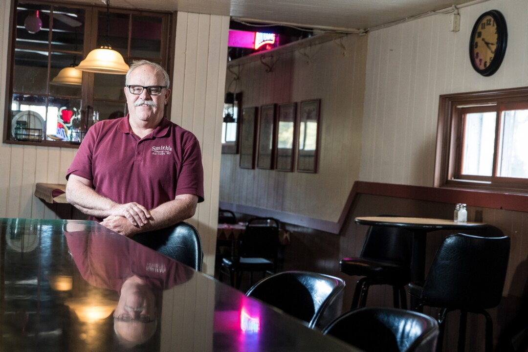 TASTY OPPURTUNITY. Mark Smith has been running Smith's Country Inn on Highway 37 since 1978. He's currently seeking a new owner for the thriving eatery.
