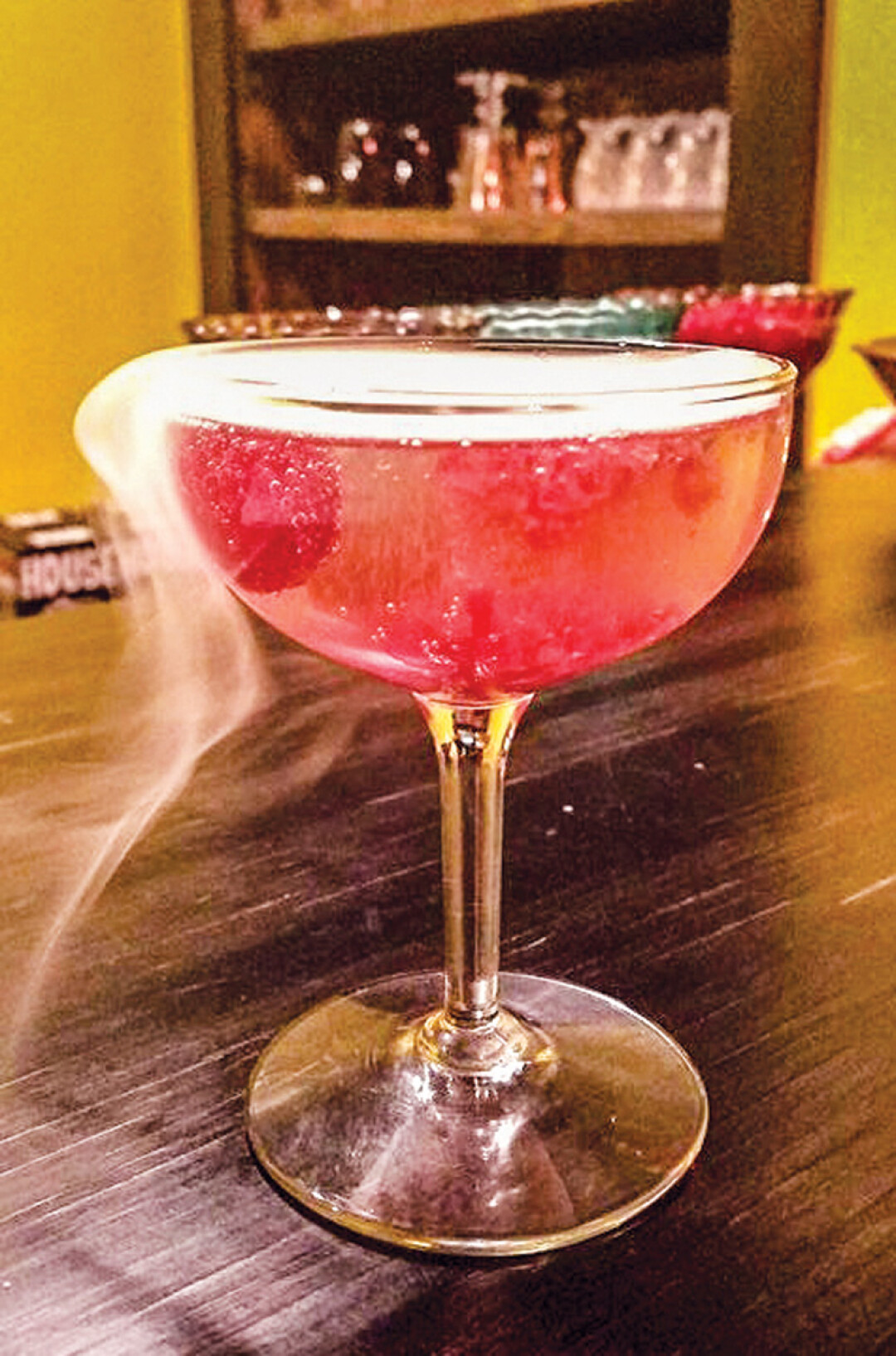The Witches Heart Cocktail at Stacked in Menomonie.