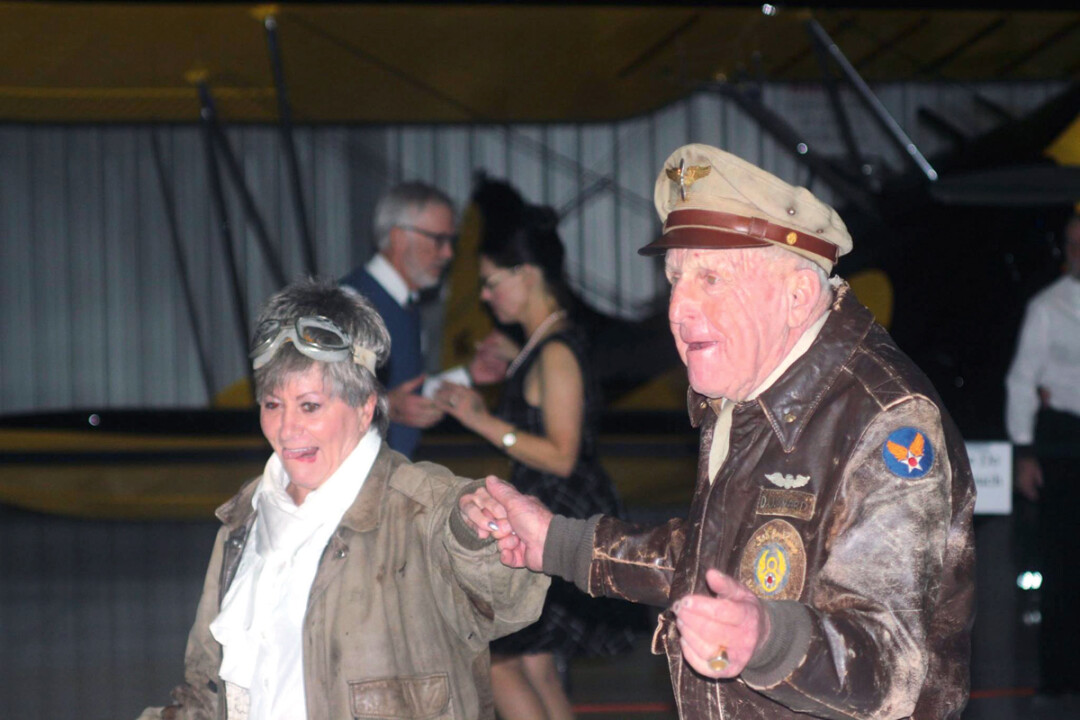 Cutting a rug at last year's dance.