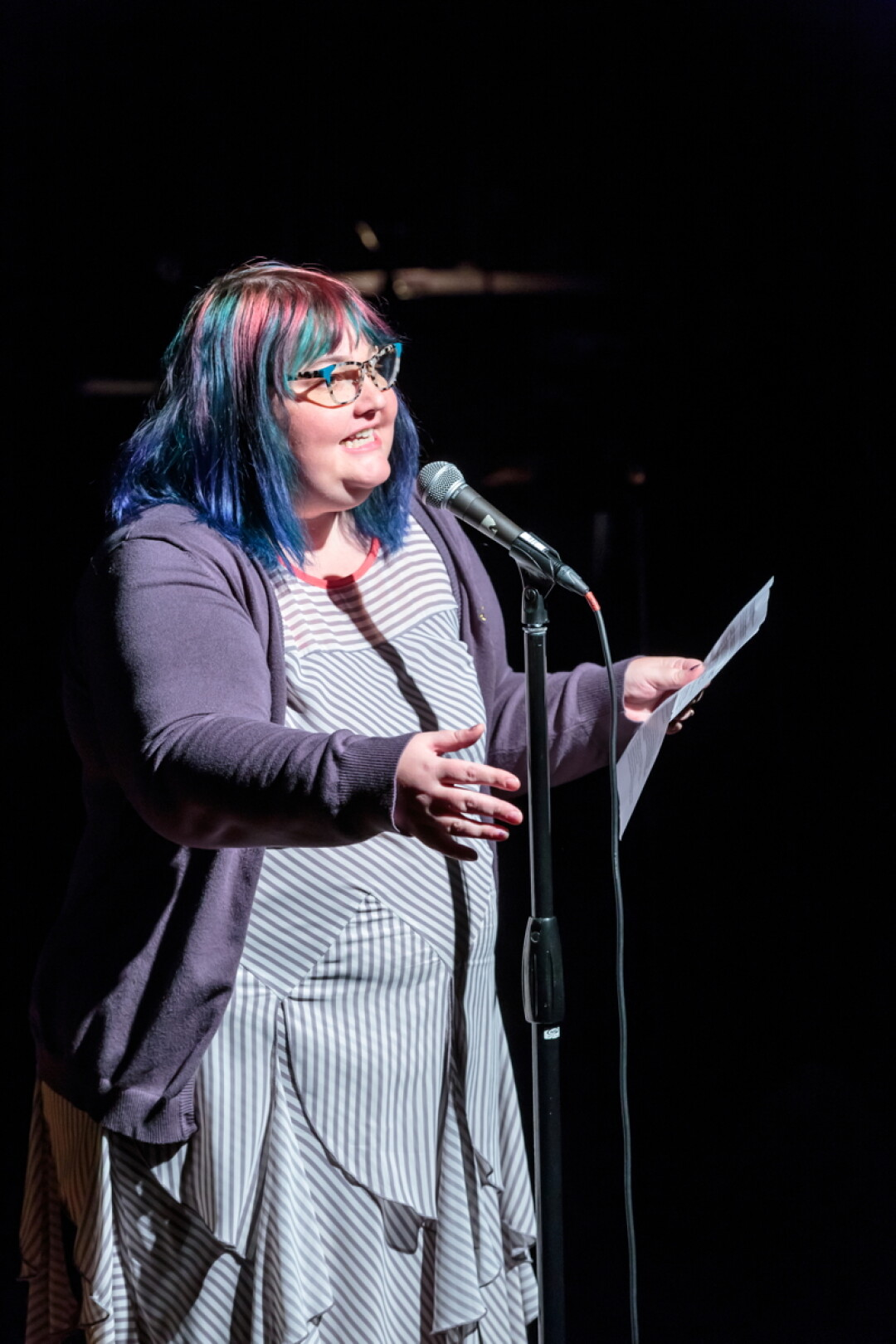 SPOKEN NERD. Strike Theater co-founder and ComCon co-organizer Allison Broeren grew up in Eau Claire. ComCon is a winter retreat/workshopping weekend for comedy writers and performers coming up in February on Lake Holcombe.