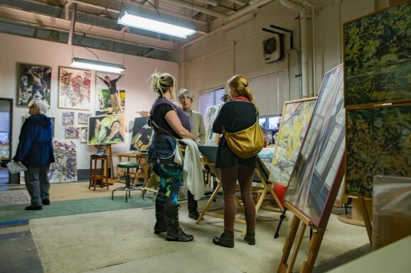 At the 2016 Banbury Art Crawl attendees enjoyed art and craft vendors in addition to the fantastic studio tours.