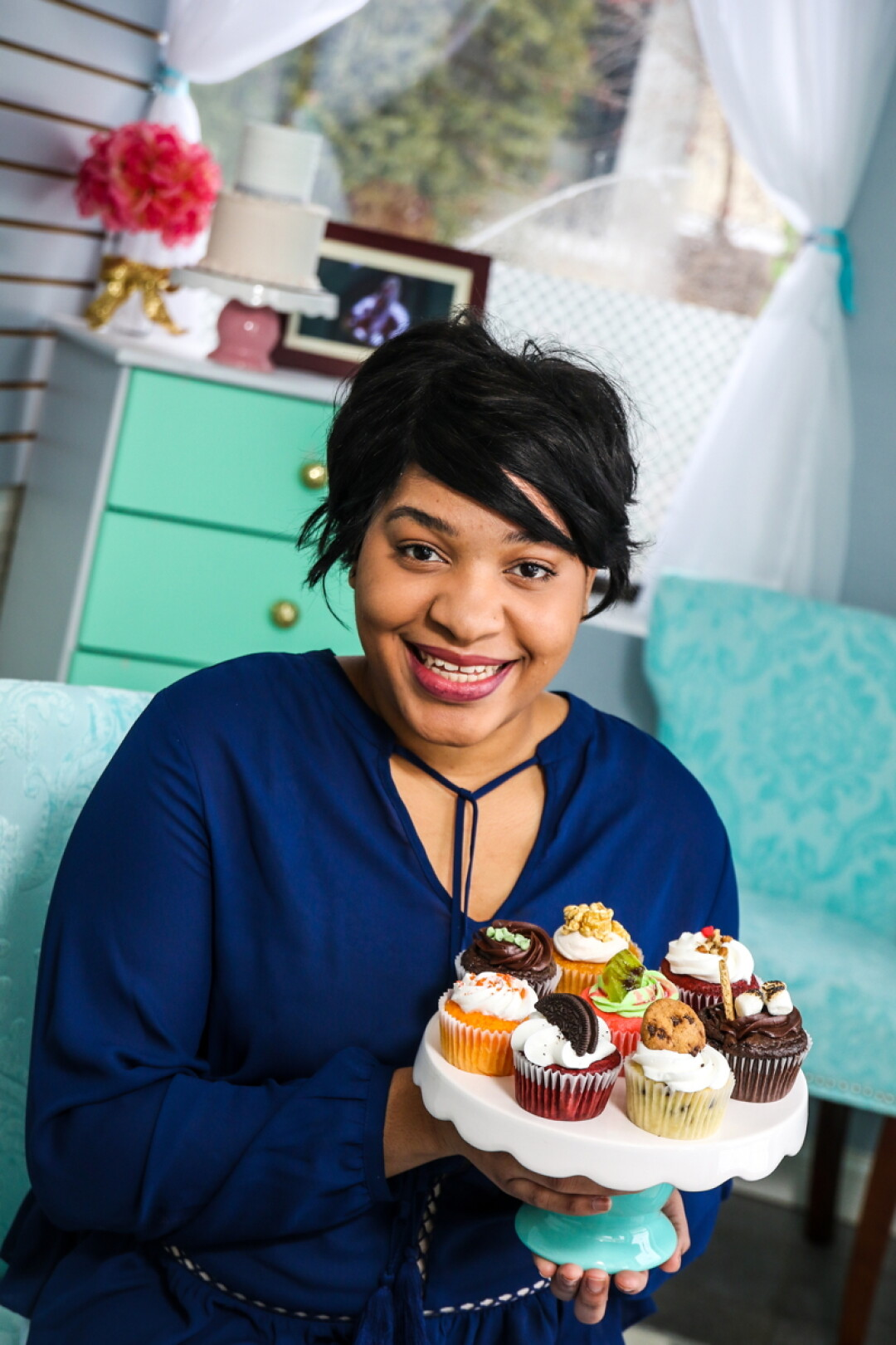 Farrah Miller recently opened her new cake shop, Chic Sweets By Farrah, at 310 Water St. in Eau Claire.