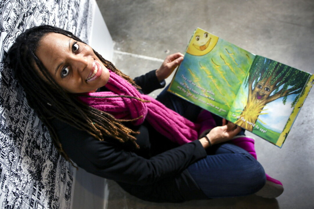 "THE SUN SHINES IN. Writer Ava Gustafson drew inspiration for her children's book from a childhood dream. ""It actually just kind of happened by divine intervention,"" she says."