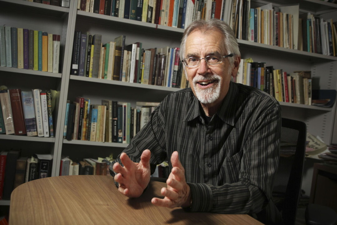 POETRY ON THE TABLE. Former Wisconsin poet laureate Max Garland has won the Brittingham Prize for Poetry and will have the winning manuscript published.