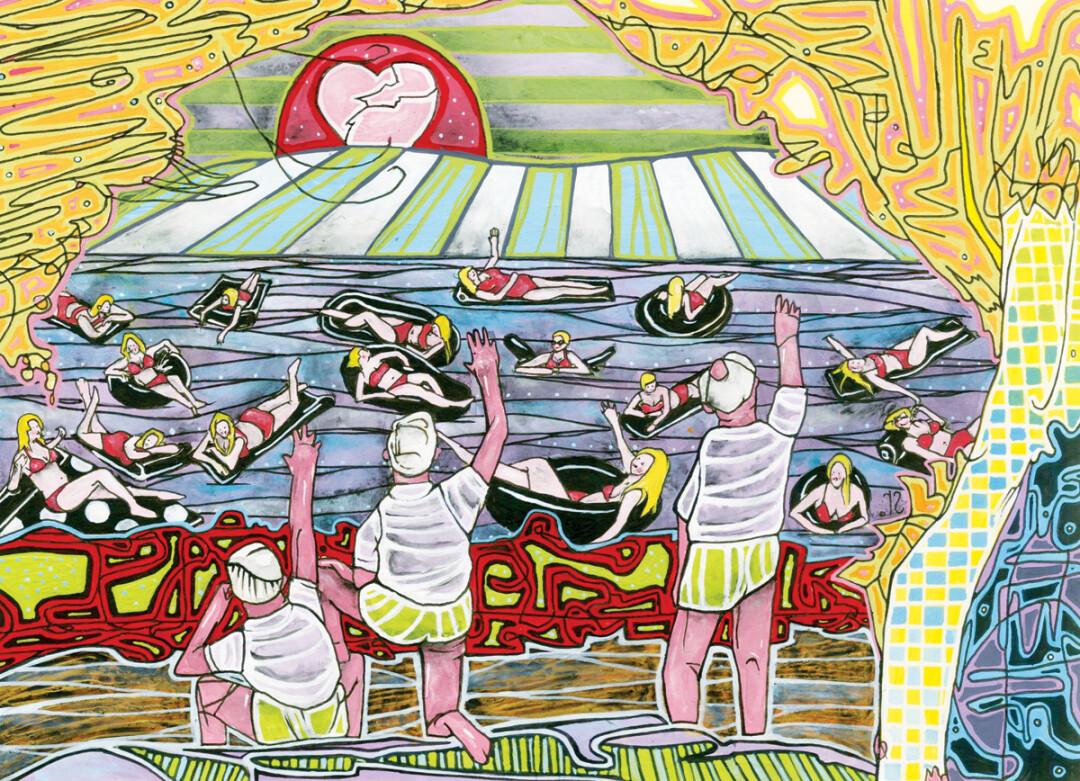 Good Book Gone Wild - Eau Claire native paints Old Testament