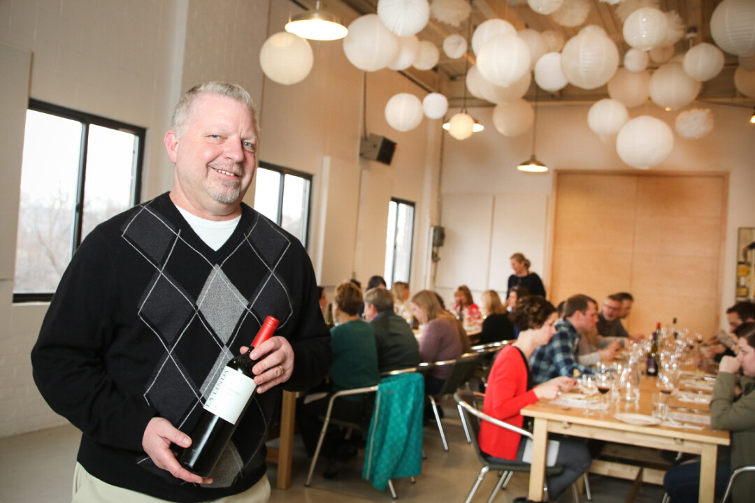 Bernier Holds Wine Classes at Forage in Eau Claire