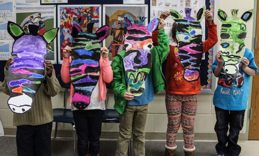 ART FINDS A WAY. Flynn Elementary School in Eau Claire will soon begin a new program  to bring local artists into the classroom to teach. The program is possible through a generous donation.