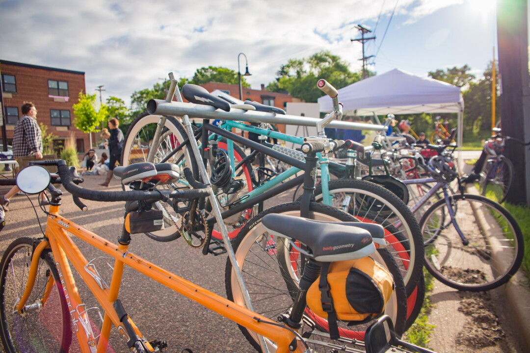 THIS IS HOW YOU FRAME THE STORY. The Wisconsin Bike Federation coordinates Bike Week in cities throughout the state each year. This year, Altoona will join Eau Claire in the festivities (June 5-12).