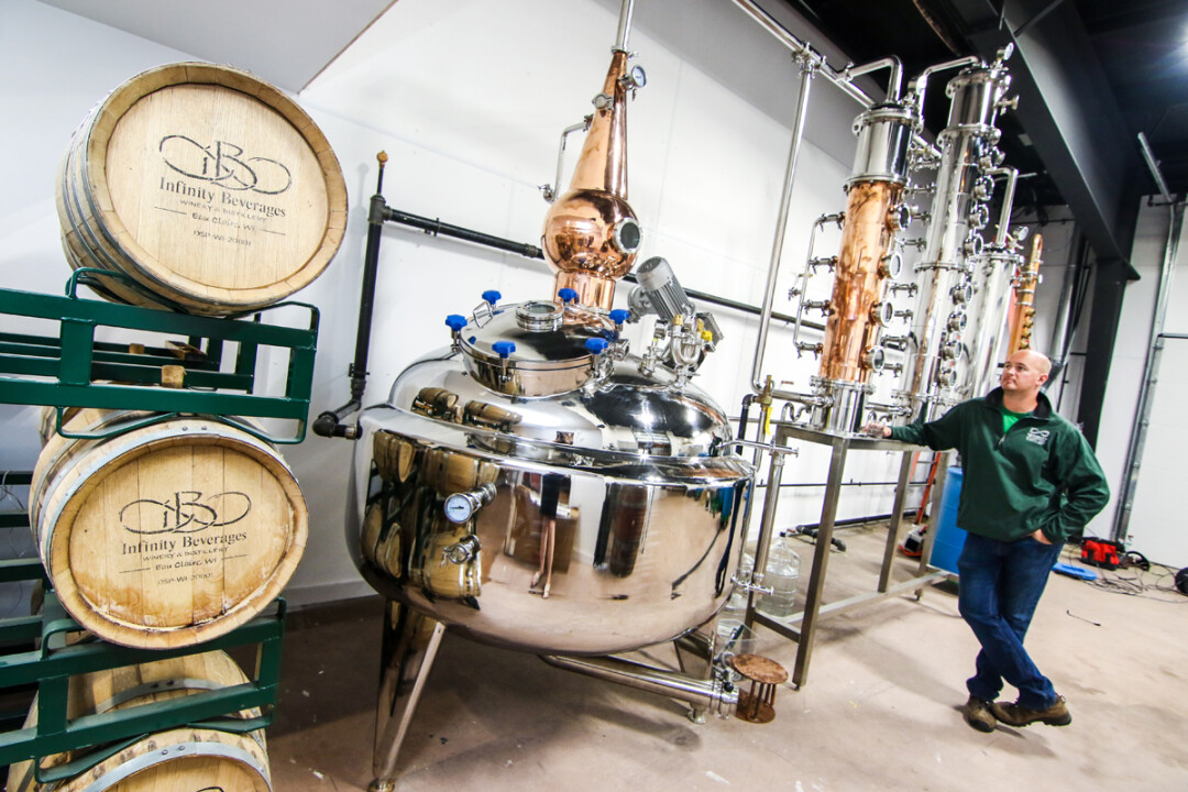 "A MAD FLAVOR SCIENTIST OF LOCALLY DISTILLED SPIRITS. Part of the Wisconsin Science Festival, Infinity Beverages owner Matthew Rick will present ""The Science of Winemaking & Distilling"" on Nov. 5."