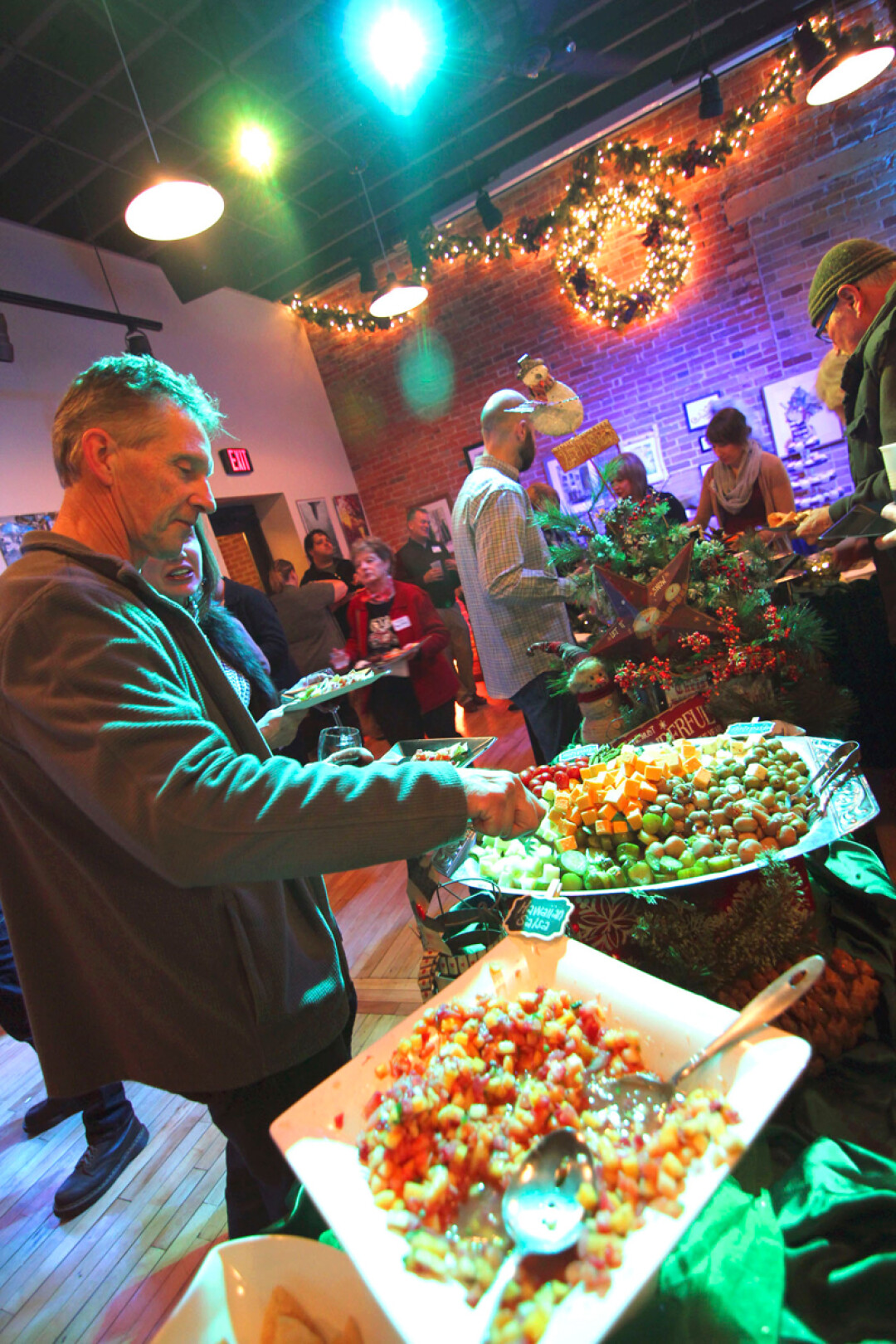Holiday party catered by KP Katering