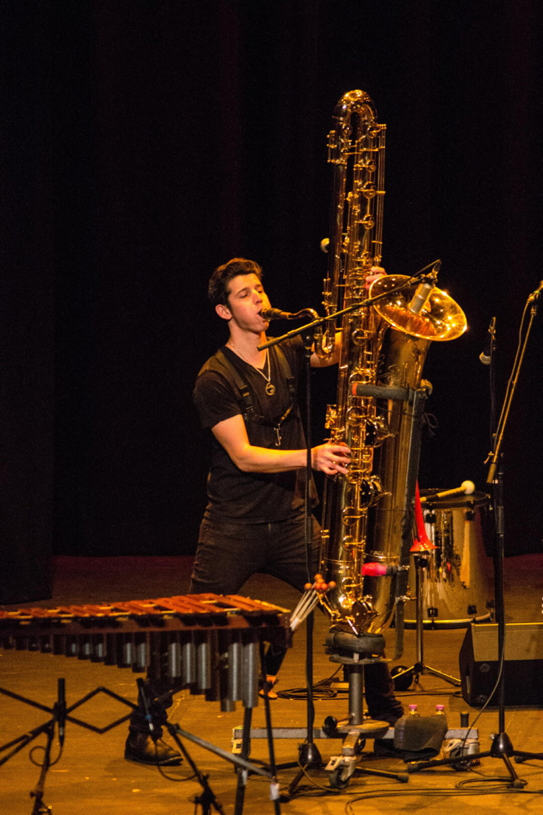 HEY, CAN WE GET A BIGGER SAXOPHONE OVER HERE? Sax gods with amazing horns were just part of the show when the Violent Femmes came to the State Theatre on Wednesday, October 25.
