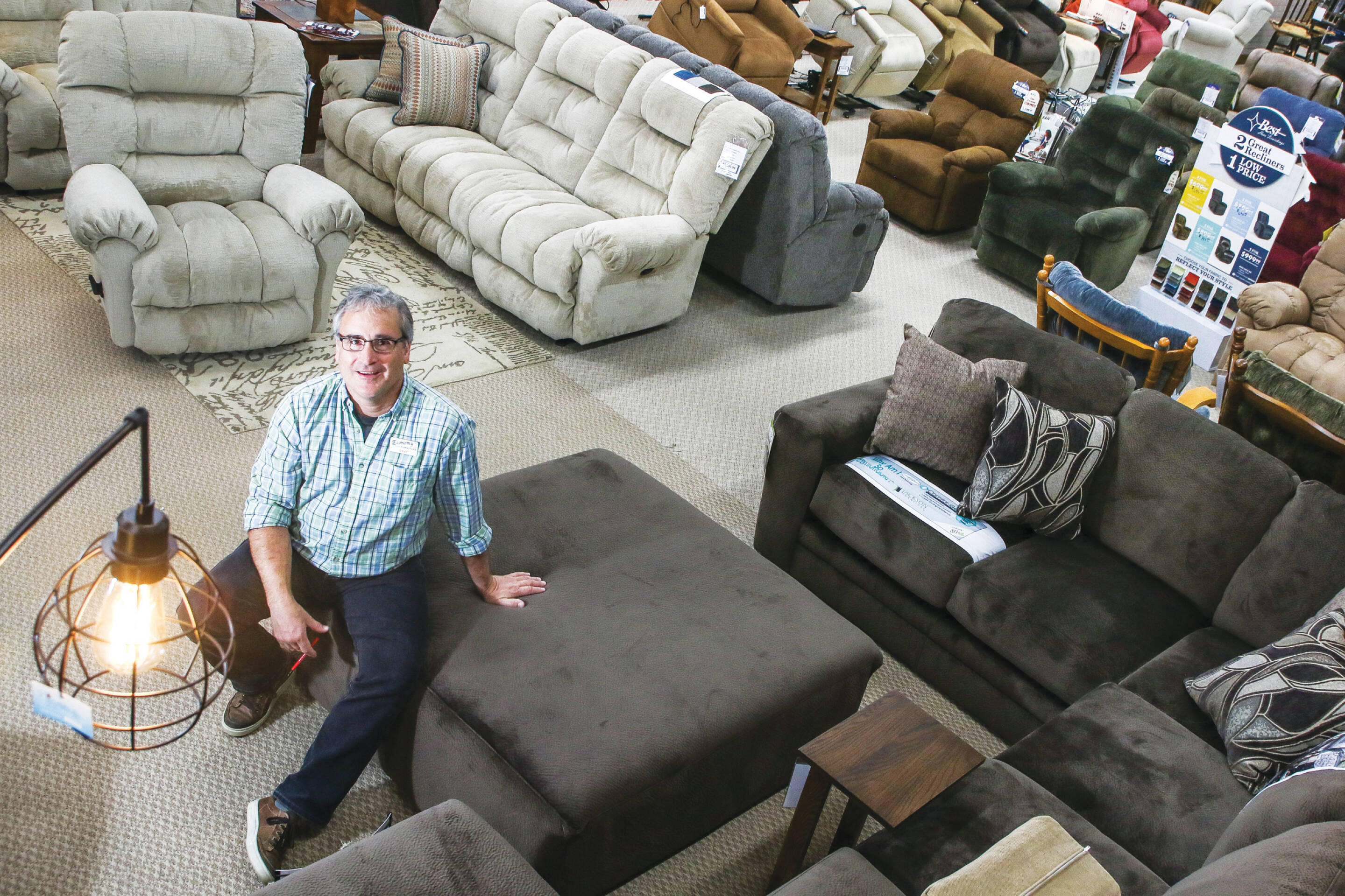 Shop Talk - Economy Furniture opens new location in its 75th.