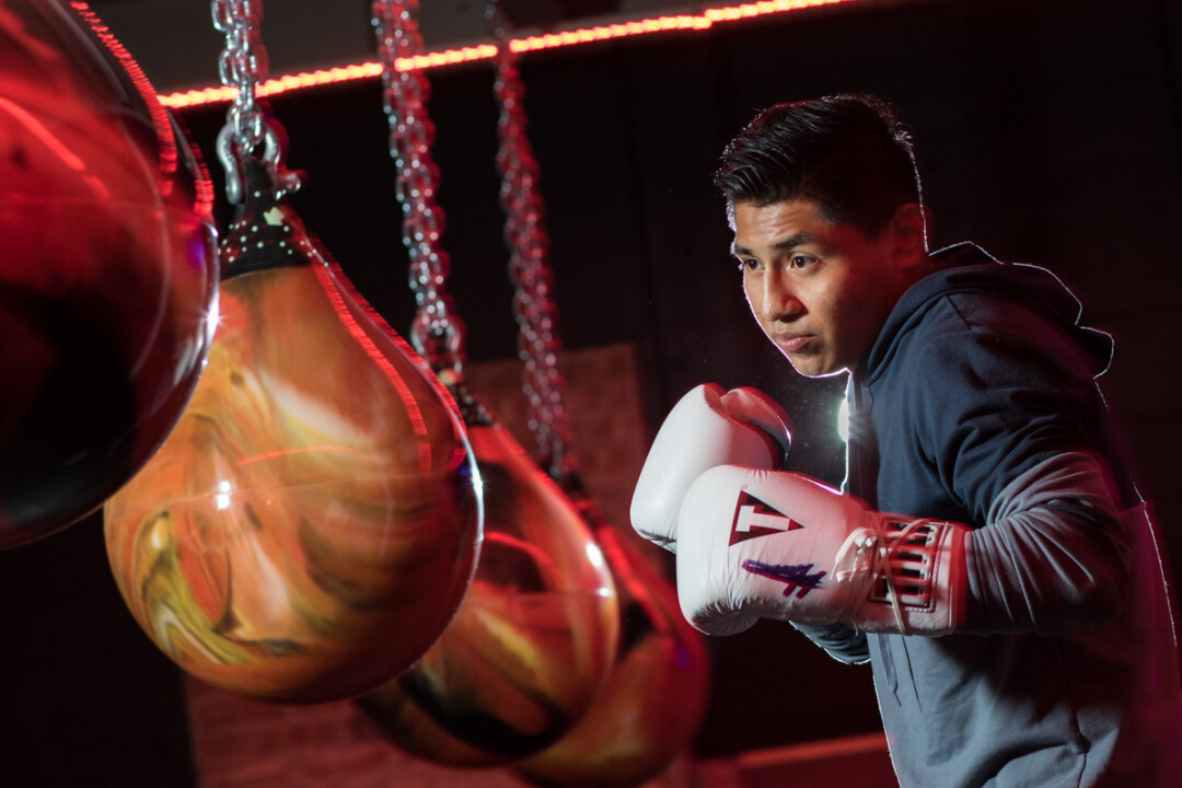 FITNESS WITH A PUNCH. Hector Pucheta (above) is the mind (and fists) behind Savage Fitness, a boxing gym that thrives with a clubby atmosphere and music to get your punches flying.