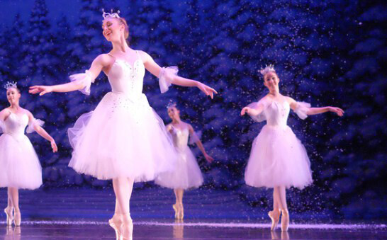 "STRAP ON THOSE DANCIN' SHOES. The dreamiest aspects of the holiday season are on full display as St. Paul Ballet's production of ""Clara's Dream: The Nutcracker,"" which graces the Mabel Tainter stage on Dec. 15."