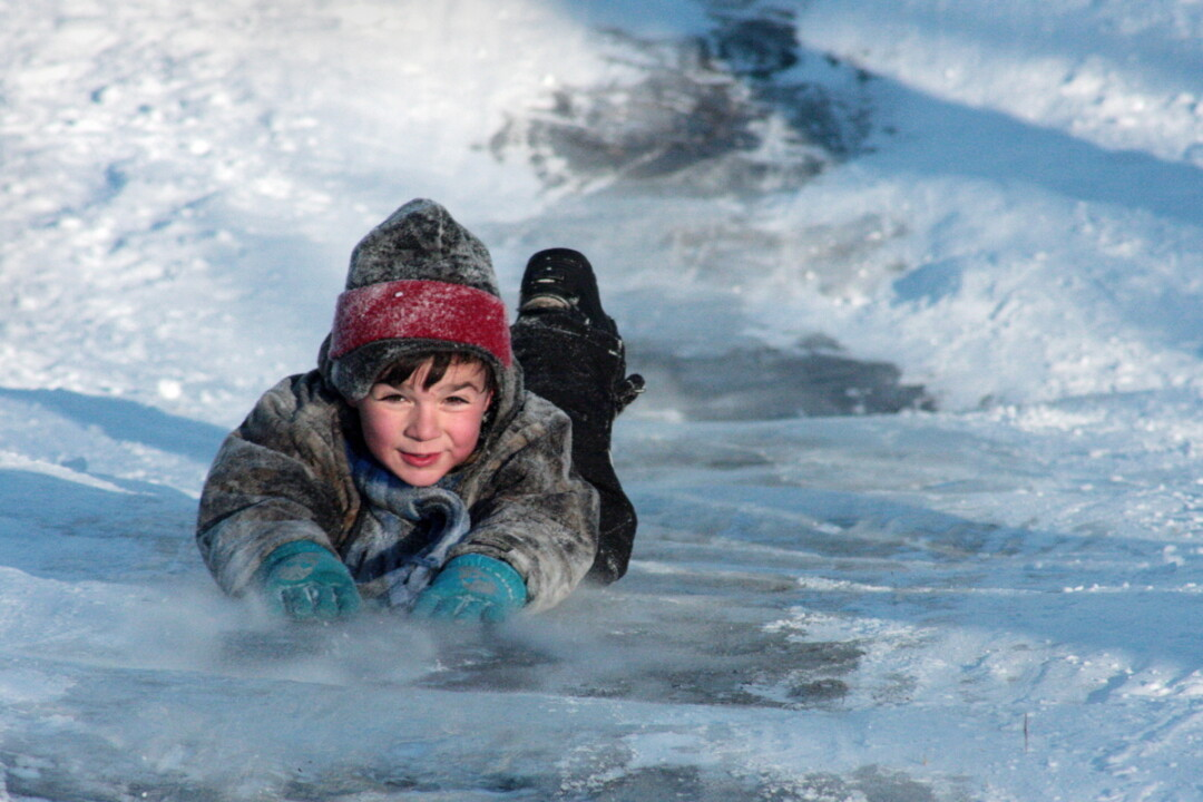 GET OUTSIDE! DON'T BE SCARED! I know it's cold, but there's literally tons to do in the outdoors. I mean, there's skiing, snowshoeing, sledding (the normal stuff), but we thought of a couple other things you could try. Check it below.