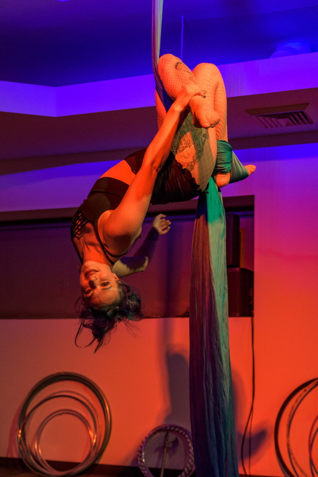 AIR TIME. The Torch Sisters had room to stretch out at downtown Eau Claire's The Metro on March 2, the second night of Decadent Cabaret 39 – the city's largest annual celebration of local musicians.