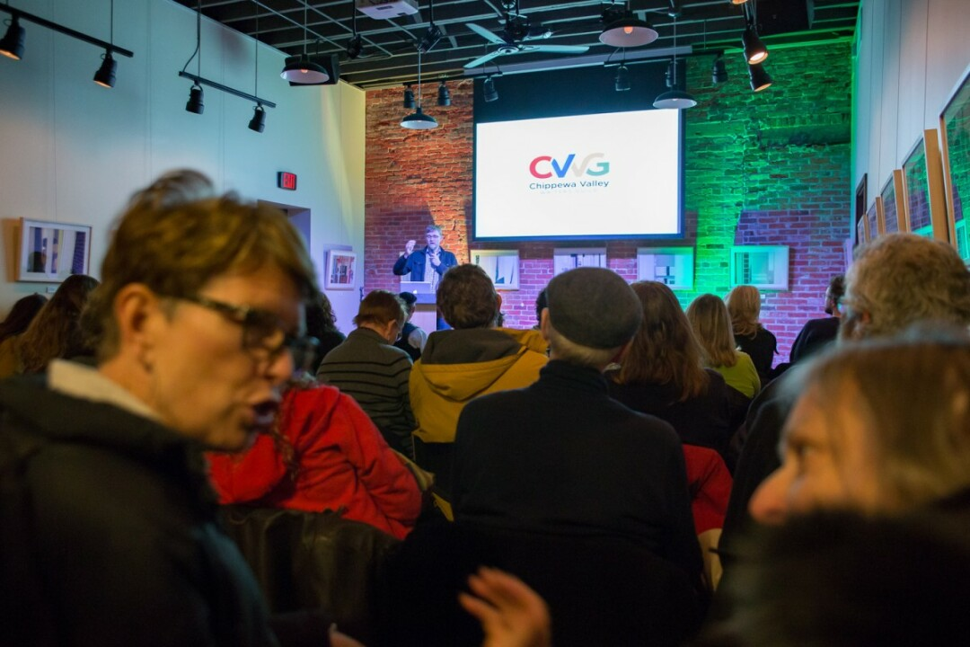 Chippewa Valley Writers Guild kickoff event, 2016.