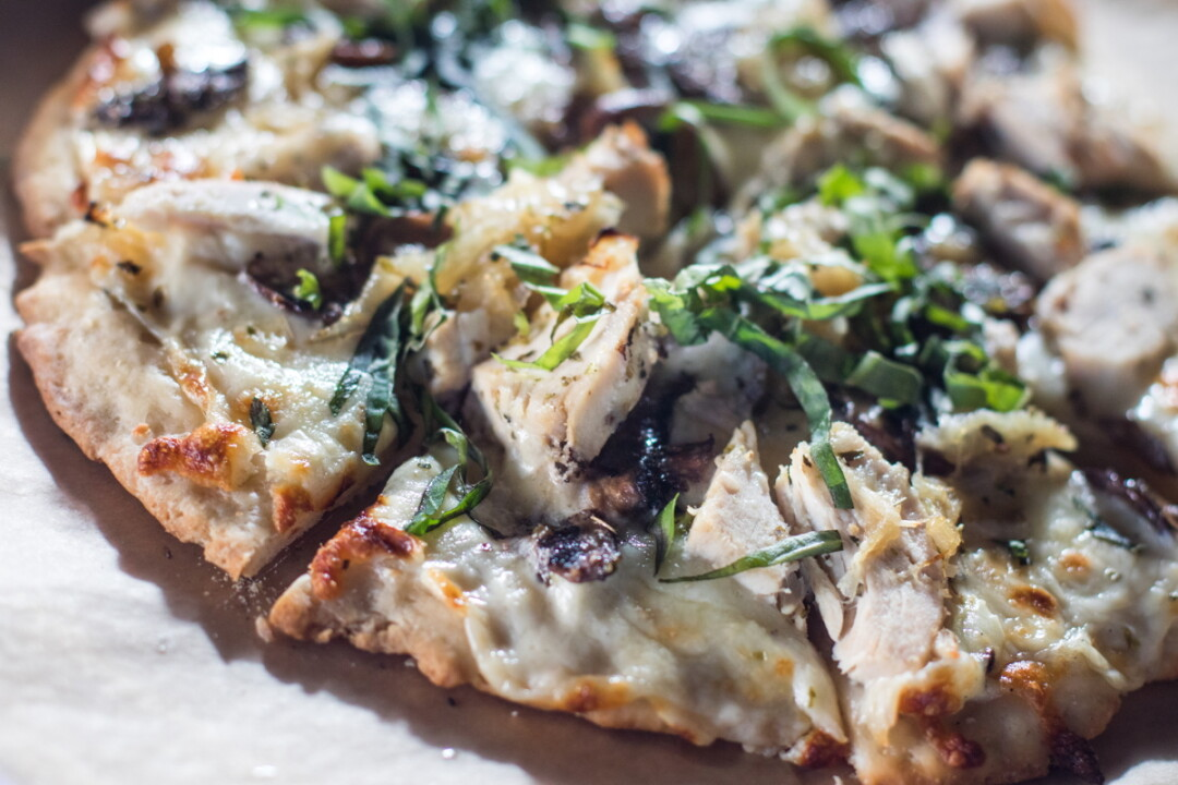 "A VERY NICE SLICE. Now open in Altoona's River Prairie development, Za 51 is a specialty pizzeria by the owners of Draganetti's Ristorante and Taverna Grill. TOP: A ""Forager"" pizza with chicken, mushrooms, and onions."