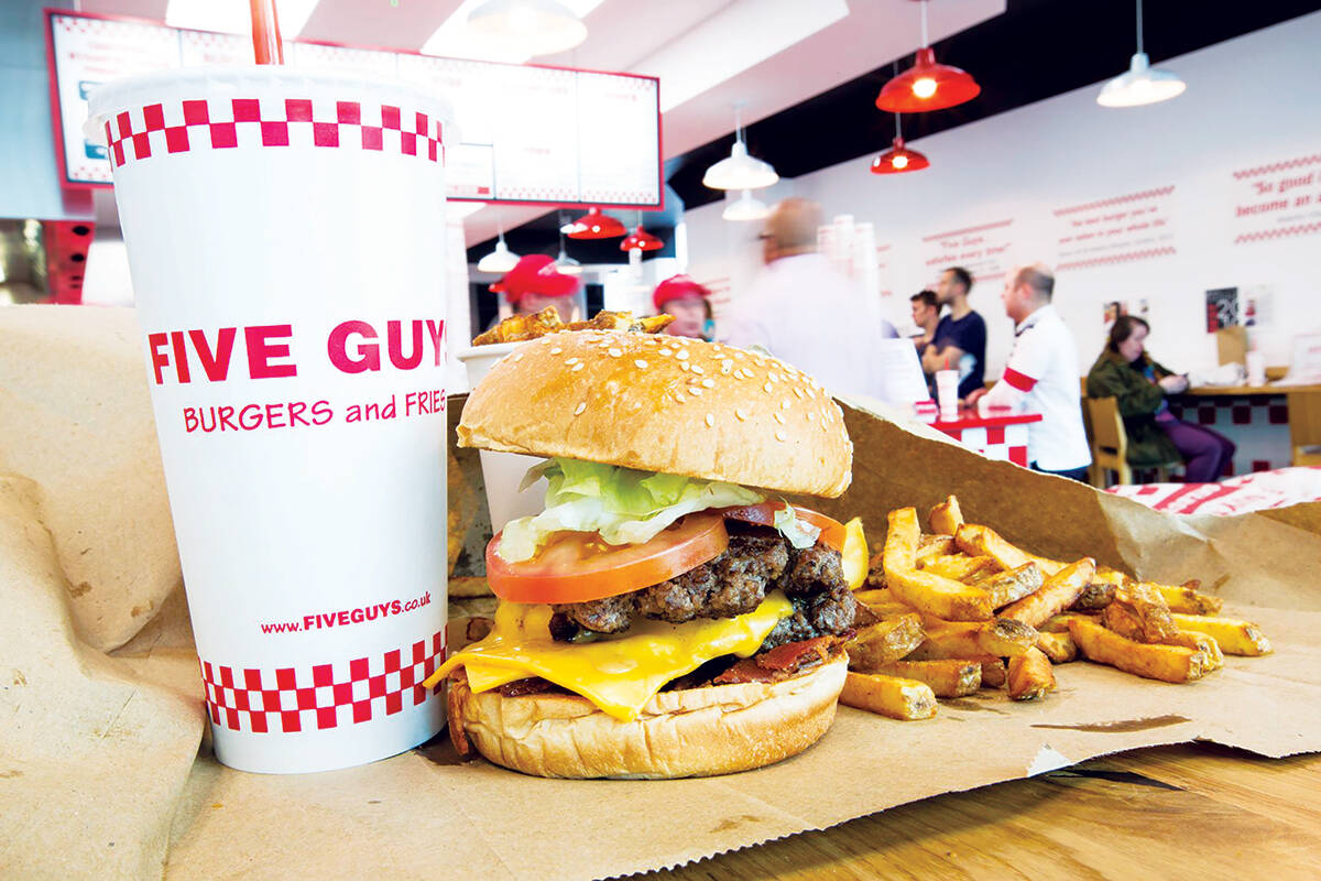 Five Guys Burgers & Fries Set to Launch EC Location