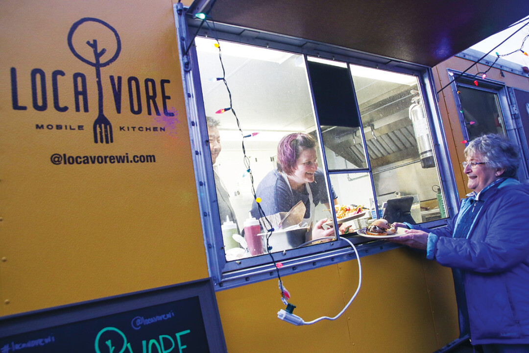 KEEP ON TRUCKING INTO MY STOMACH. Helmed by Chef Amy Huo, look for Locavore Mobile Kitchen at various events and locations this year.