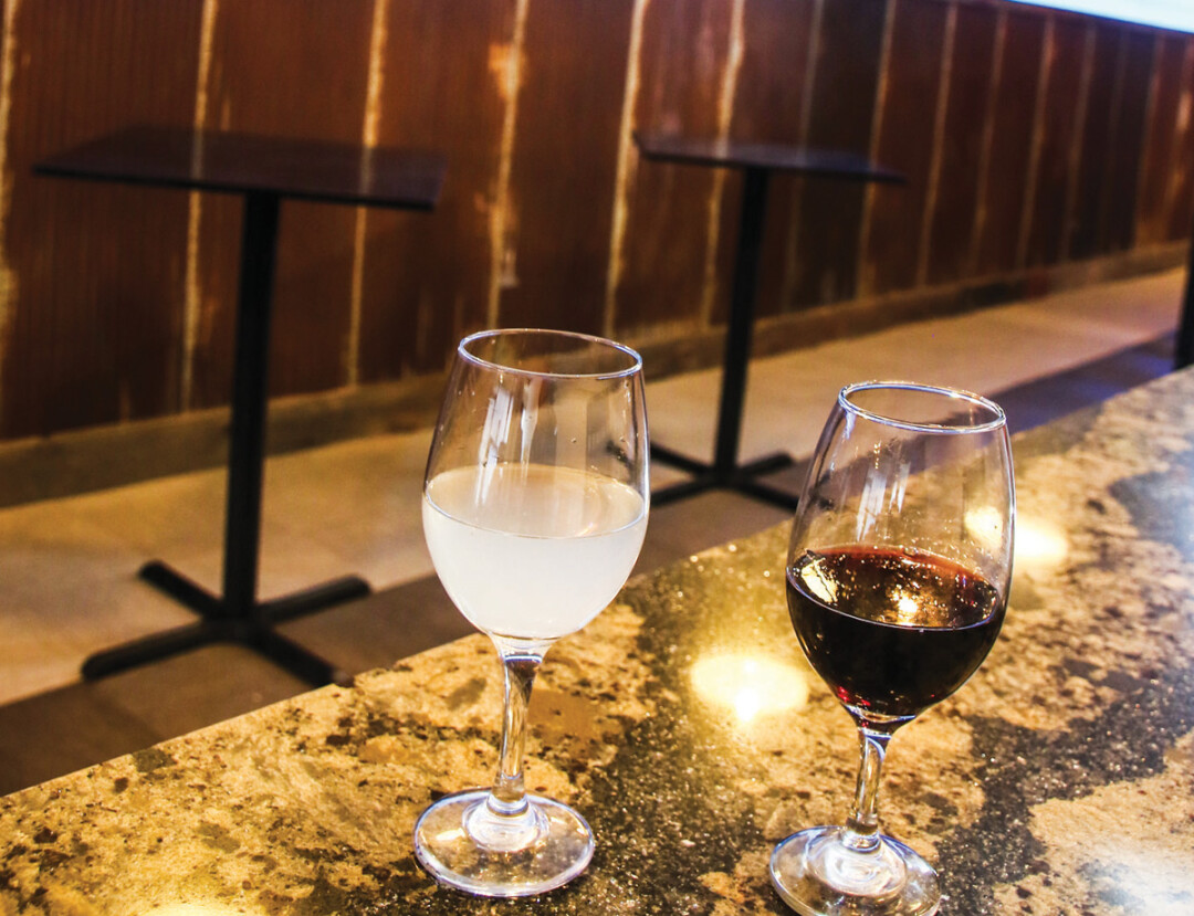 DON'T CODDLE THE BOTTLE. A relaxed wine bar, The Rev is now open at 204 S. Barstow Street. Along with wine tastings, owners Kate and Benny Haas will feature events in the bar's back room.