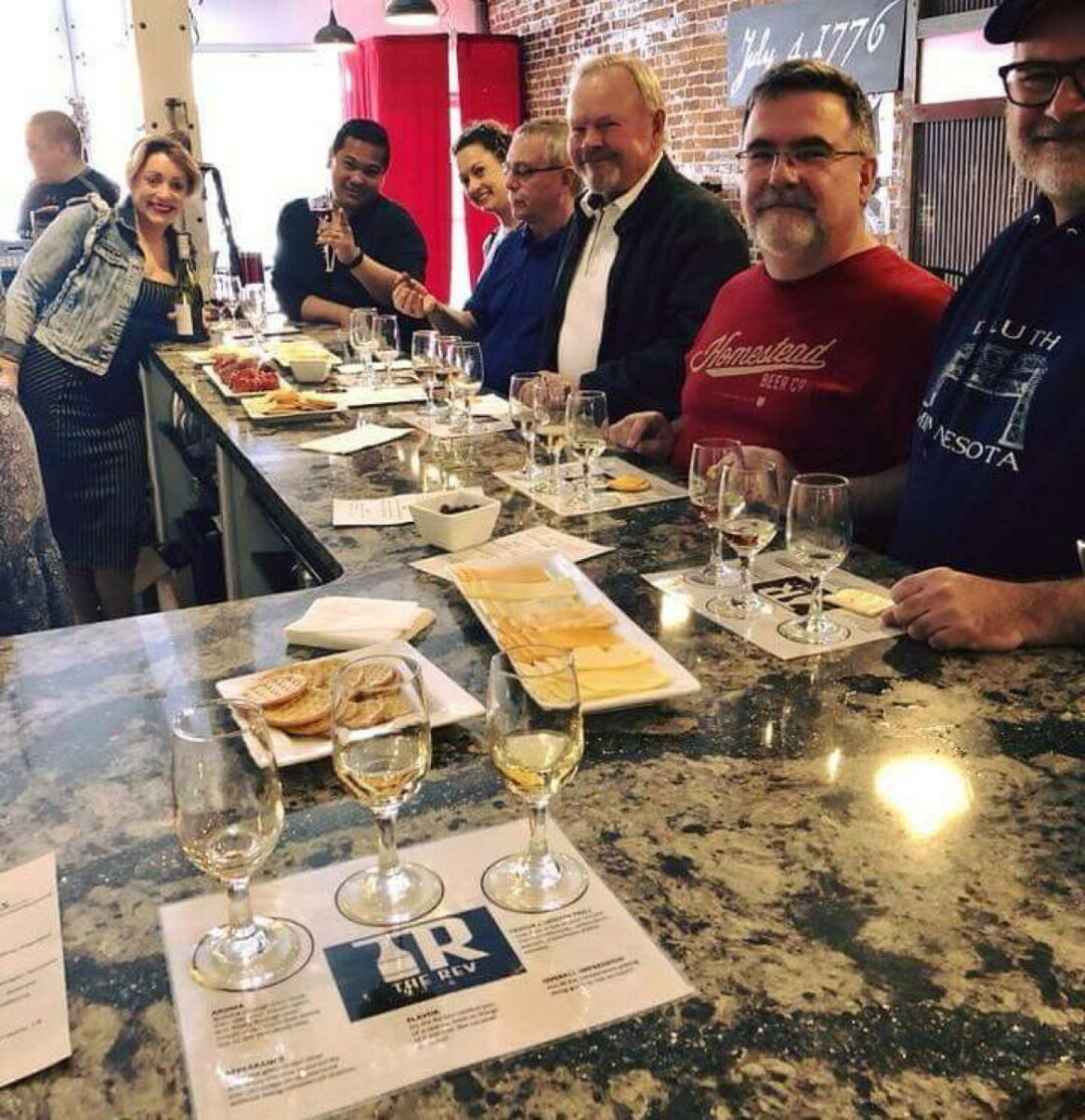 HAVE A SIP! The Rev, 204 S. Barstow St., a new downtown wine bar, is part of the tour.
