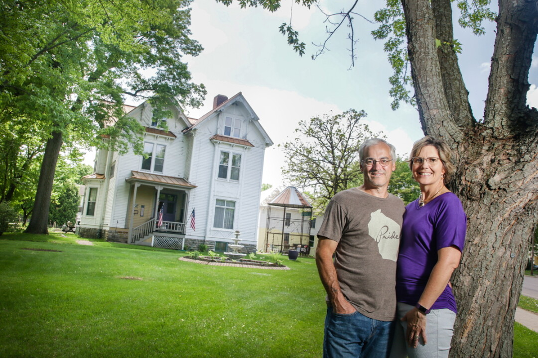 KEEPIN' IT COZY. Husband-and-wife team Keith and Mary Hutchinson have recently opened The Brickyard B&B, a bed and breakfast inside an 1887 Victorian home in Chippewa Falls.